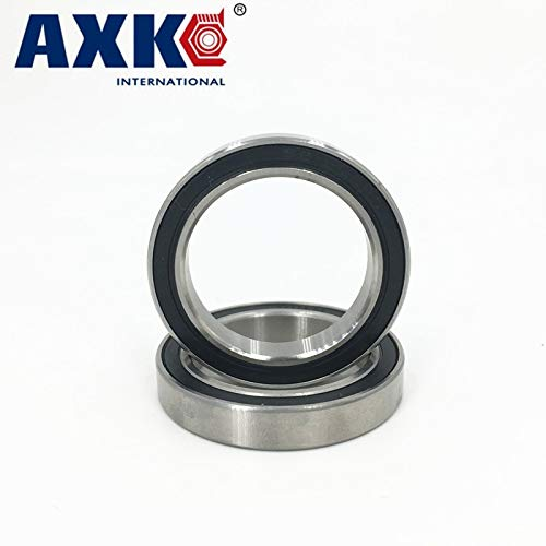 Ochoos 2pcs S6806-2RS S6806 Stainless Steel Hybrid Ceramic Bearing 30x42x7mm Bike Bottom Bracket Repair Parts for BB30 Length: GCR15