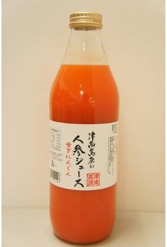 雪下人参ジュース ストレートタイプ 1L×6本×2箱 津南高原 にんじんジュース 贈り物 ギフト 野菜ジュース にんじん