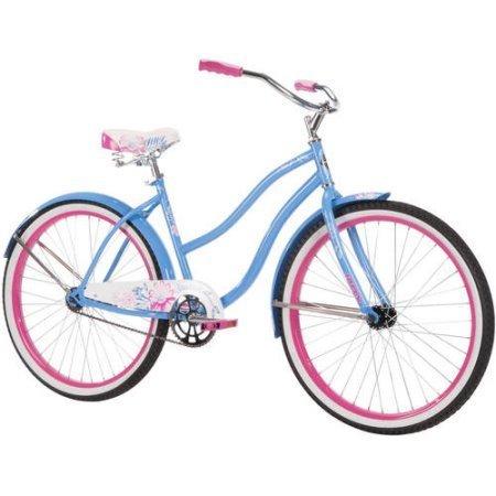 "Blue FREE SHIPPING Brand New Huffy 26/"" Cranbrook Women/'s Comfort Cruiser Bike"