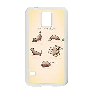 Perfect as Christmas gift-Funny Cats Pattern case Hard Plastic PC Protective Cover case Accessories for iphone 4/4s Case-04