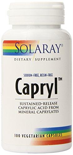 Solaray Capryl Sodium Resin Free Capsules product image