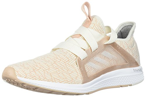 adidas Performance Women's Edge Lux W Running Shoe, ash pearl/chalk white/chalk coral, 6.5 M US