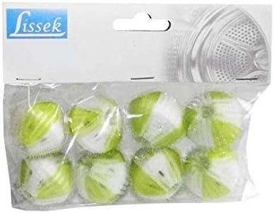 Lissek 8 unidades de bolas de lavado quitapelusas pelotas pelotas ...