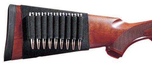 Gunmate Buttstock Shell Holder Black Rifle, Card (Marlin 30 30 Stock)