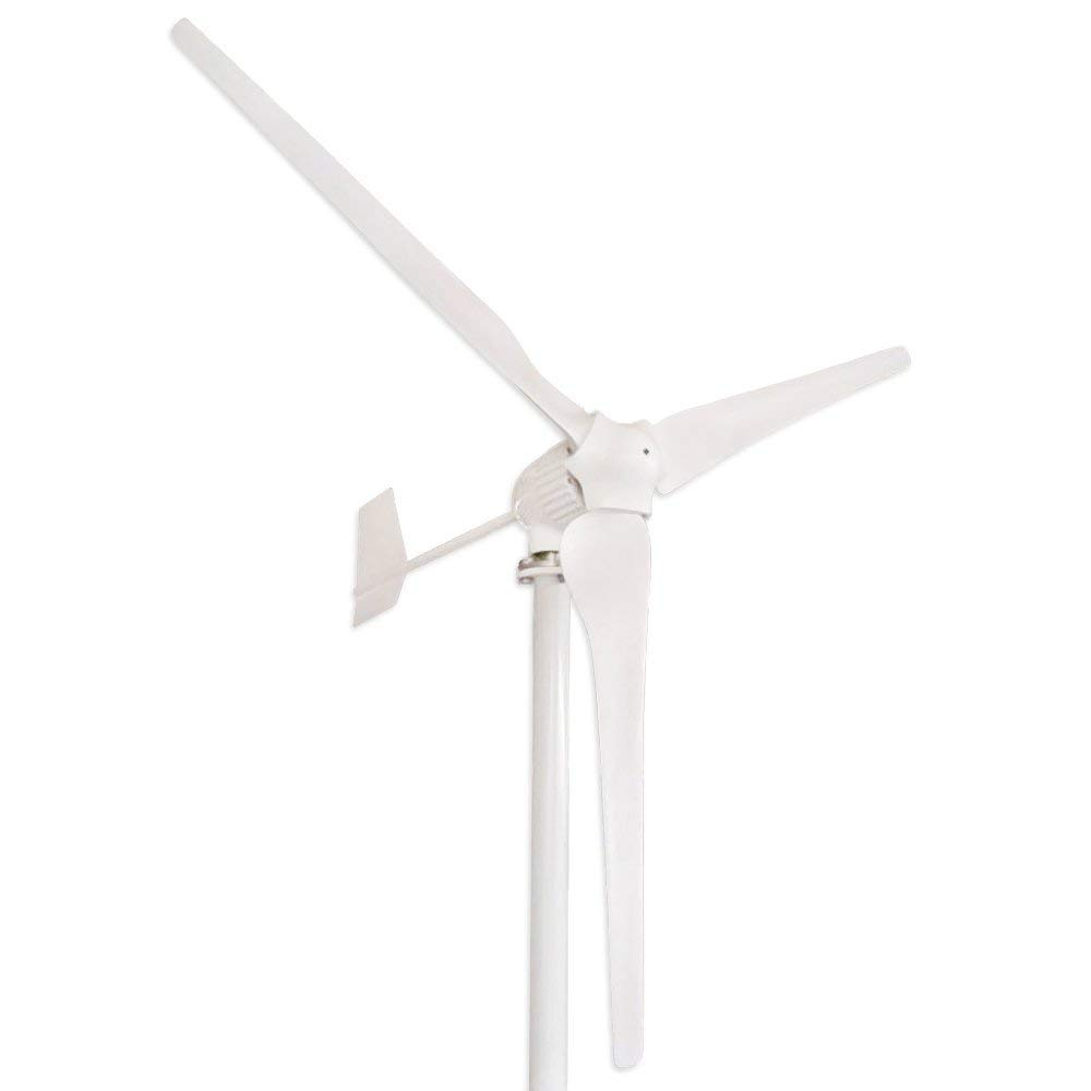 Tumo-Int 1000W 3 Blades Wind Turbine Generator Kit with Wind Boosting Controller 48V