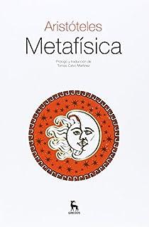 Metafísica par Aristoteles