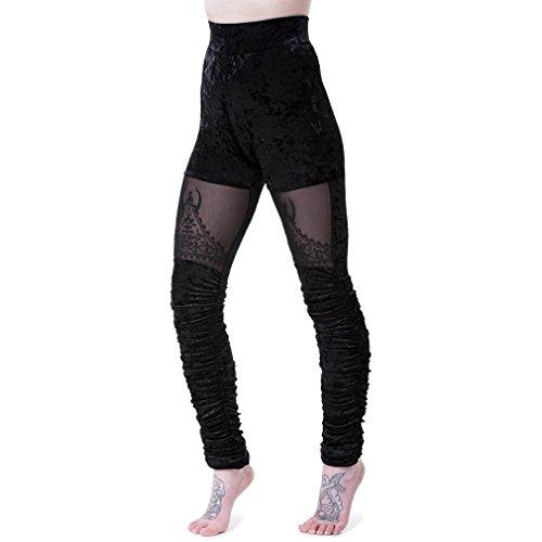 Killstar Legging Skinny Noir Legging Killstar Femme T6nxU6d1