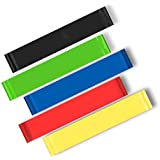 Fitness Resistance Bands Crossfit Latex Workout Pilates Fitness Equipment Yoga Exercise Pull Rope Elastic Bands Indoor,Outdoor Sport Gym Pull Up for Fit Body Building Exercise