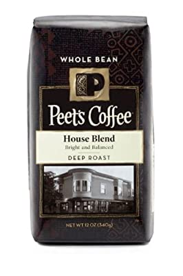 Peet's Coffee House Blend Whole Bean, 12 oz