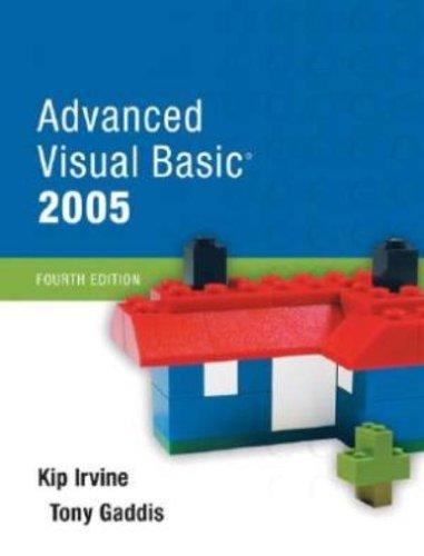 Advanced Visual Basic 2005