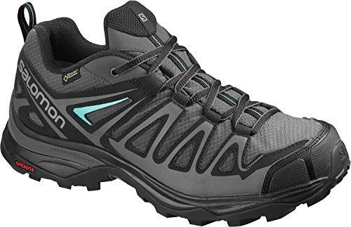 Chaussures Gris X magnet Gtx 3 Magnet Atlantis Salomon Ultra Randonne De Atlantis Noir Prime W Taille Basse Pour Femmes FXFHr