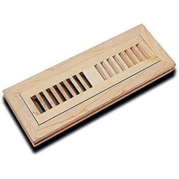 Welland 2 Inch By 10 Inch Maple Flush Mount Vents With