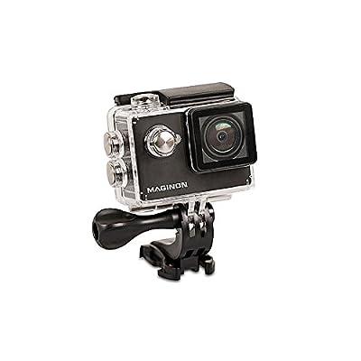 'Maginon Actioncam AC de 500Touch–étanche HD Caméra embarquée avec écran tactile–Résolution Vidéo 720p/30fps–Objectif grand
