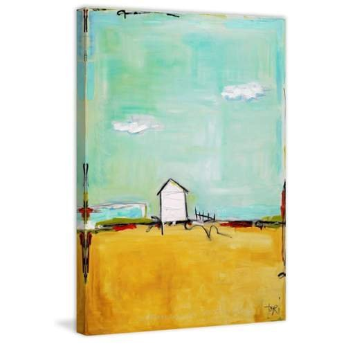 Marmont Hill Happiness Everyday by Tori Campisi Painting Print on Wrapped Canvas, 60'' x 40'' by Marmont Hill