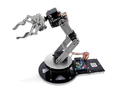 GOWE AS-6DOF aluminium robotic arm(including electric control part)