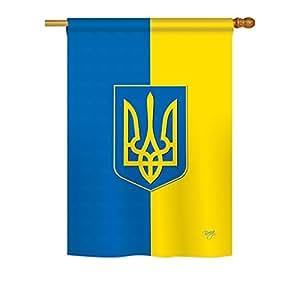 "Ukraine Large Flag 28""x 40"""