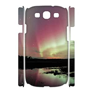 SYYCH Phone case Of Mysterious Arctic Aurora 1 Cover Case For Samsung Galaxy S3 I9300