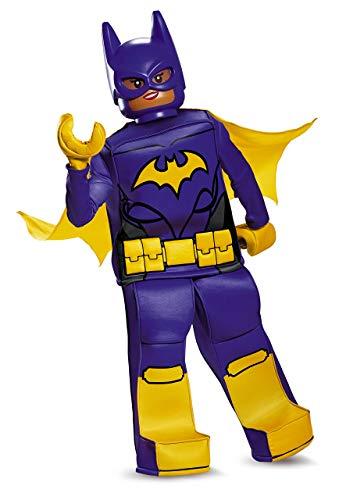 Batgirl LEGO Movie Prestige Costume, Purple, Medium (7-8) ()