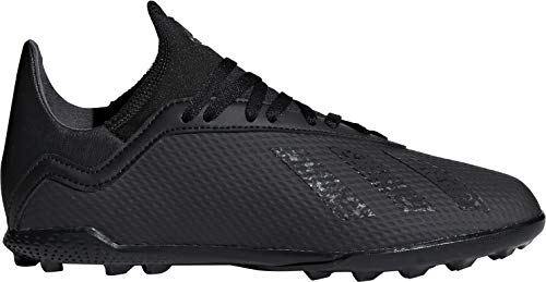 adidas X Tango 18.3 Astro Turf Junior Football Trainers - Black-12 J