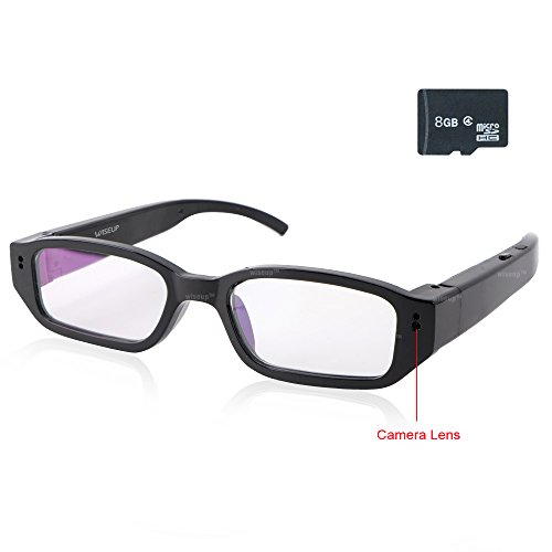 WISEUP 1920x1080P Glasses Camcorder Recorder product image