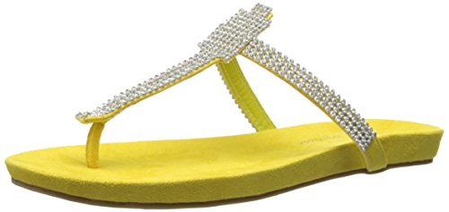 Coconuts by Matisse Women's Glenda Dress Sandal, Yellow, 7 M US