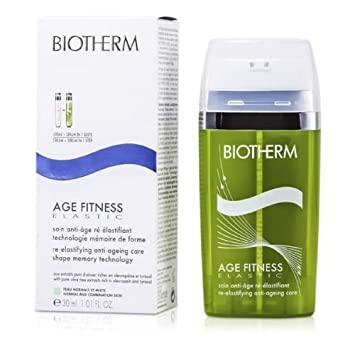 Biotherm - Age Fitness Elastic Re-Elastifying Anti-Aging Care (N/C Skin) - 30ml/1.01oz Givenchy LIntemporel Global Youth Silky Sheer Cream - For All Skin Types - 50ml/1.7oz