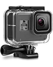 60M Waterproof Case for GoPro Hero 8 Black Underwater Waterproof Protective Housing Case Compatible with GoPro Hero 8 Action Camera with Quick Release Mount and Thumbscrew