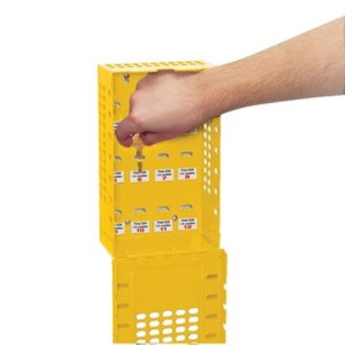 Master Lock Group Lock Box for Lockout/Tagout, Steel, Yellow by Master Lock