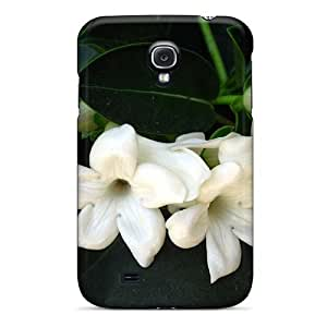 For Case Samsung Note 3 Cover UULykoX4543AcJPu Jasmine Flower PC Silicone Gel . Fits For Case Samsung Note 3 Cover