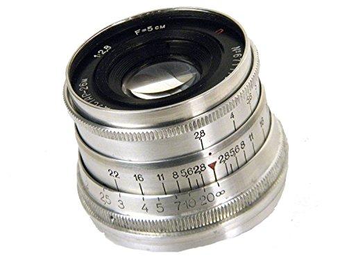 FED INDUSTAR-26M 50mm/f2 8(ヘリコイドレバー付) Lマウント オーバホール済