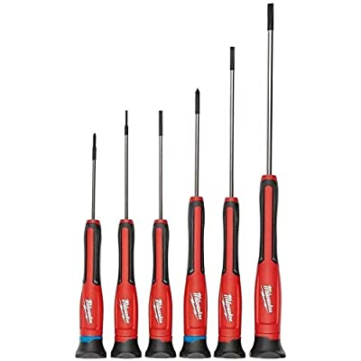 Milwaukee 48-22-2606 6-Piece Precision Screwdriver Set: Home Improvement