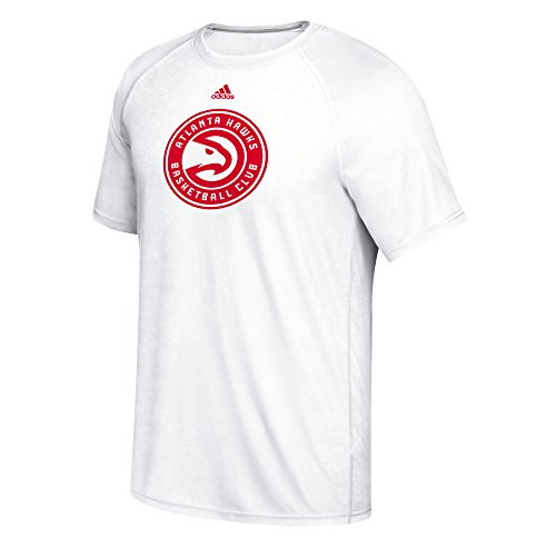fan products of NBA Atlanta Hawks Men's Phrase Hat Hook Climalite Ultimate Tee, Medium, White