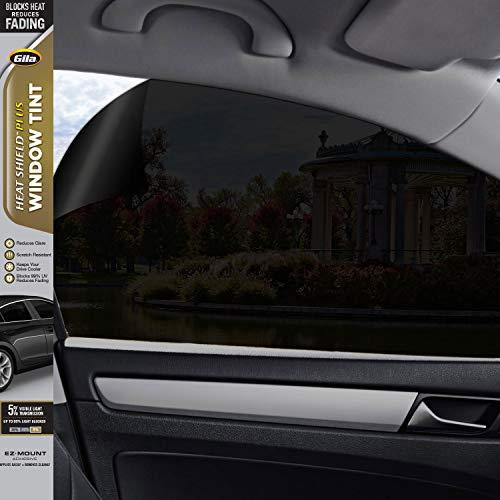 Gila Heat Shield Plus 5% VLT Automotive Window Tint DIY Extra Heat Control Glare Control 2ft x 6.5ft (24in x 78in)