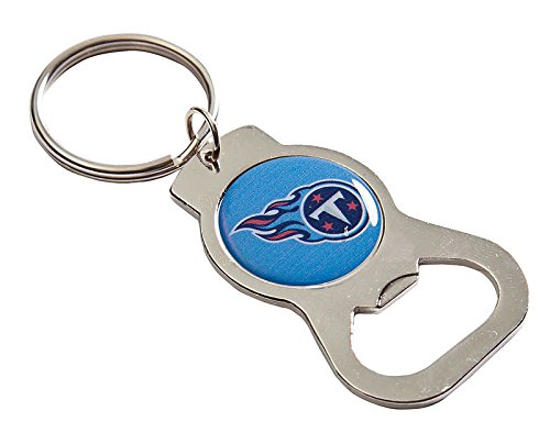 (Team Sports America C307817 Tennessee Titans Bottle Opener, Silver)