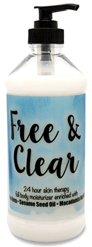The Lotion Company 24 Hour Skin Therapy Lotion, Free and Clear, 16 Ounce