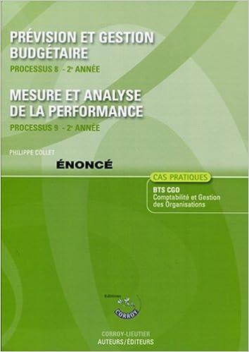 Prevision Et Gestion Budgetaire Processus  E Annee Mesure Etyse De La