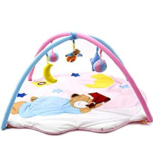 Amazon.com : Kawaii Baby Toy Play Mat Tapete Infantil Sleeping Bear