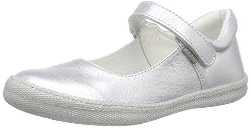 Primigi MORINE 1-E, Mädchen Geschlossene Ballerinas, Silber (ARGENTO), 25 EU