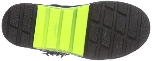 Ricosta Spider - zapatilla deportiva de piel niños negro - Schwarz (schwarz 091)