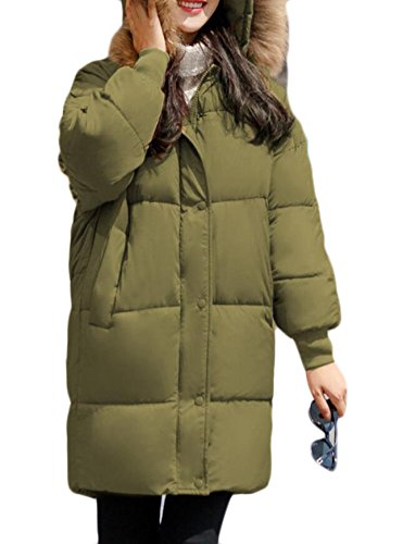 Hooded Green Outdoor Patka Fur Outwear amp;W Military Women's Army Faux Jacket M amp;S wAZIq7BSW4