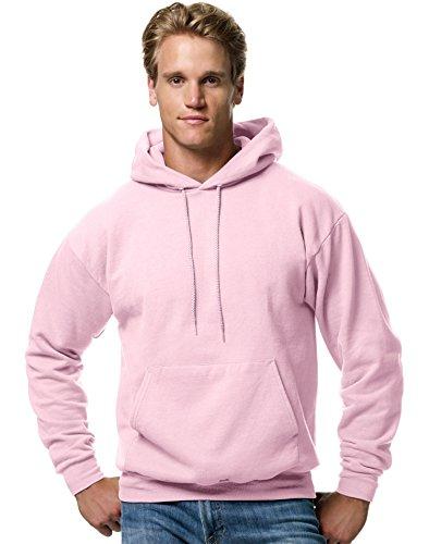 Hanes ComfortBlend EcoSmart Men`s Pullover Hoodie Sweatshirt Pale -