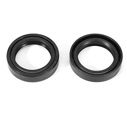 Akozon Motorcycle Front Fork Oil Seal 1 Pair 35 48 11mm Front Damper Oil Fork Seal Fits for Honda CB450 1970-1990