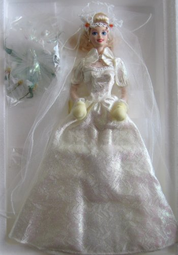 Star Lily Bride BARBIE Porcelain Doll Limited Edition (1994) Porcelain Timeless Doll