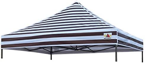 ABCCANOPY Replacement Top Cover 100 Waterproof 18 Colors 10×10 Pop Up Canopy Tent Top