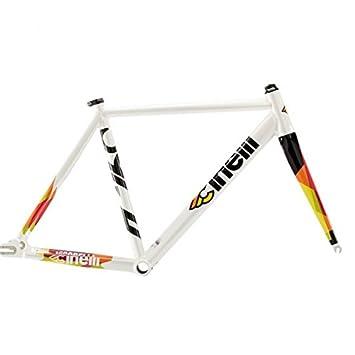 Cinelli Men\'s Vigorelli Alum Track Bicycle Frame Set, 58cm/X-Large ...