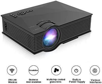 TONGTONG Proyector LED Full HD 800 x 480 proyector de vídeo LED ...