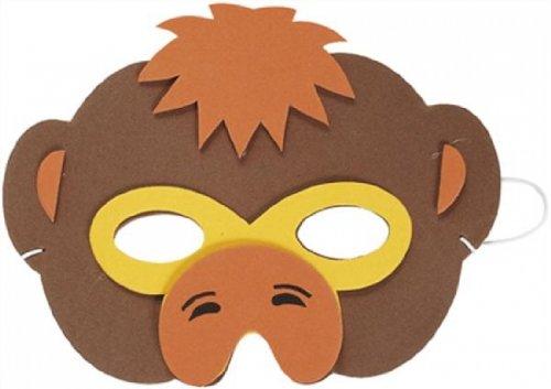 Unbekannt Schaumstoff Affe Maske Kost/üm Zubeh/ör