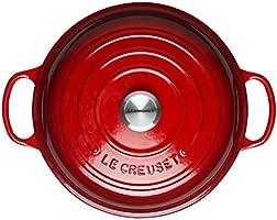 LE CREUSET Evolution Cacerola Baja Redonda, 2 L, para Todas Las ...