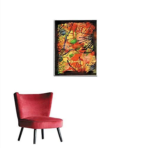 Unprecall Photographic Wallpaper Watercolor Splat Background Mural 16