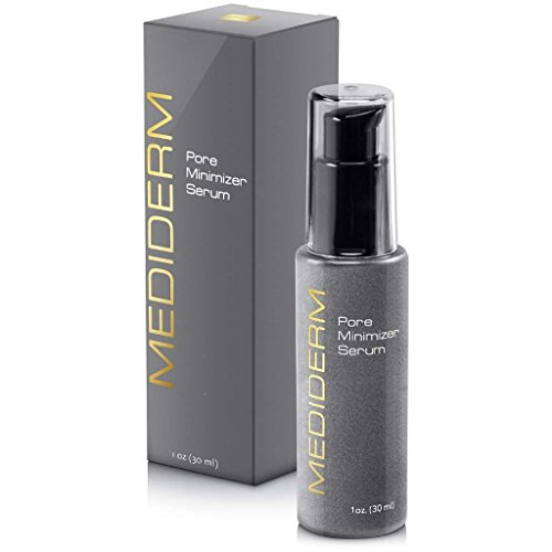 Best Skin Tightening Pore Minimizer Serum For Women & Men - Powerful Natural Pore Shrinking Oil Free Treatment Gel Cream That Shuts Down Pores and Tightens Loose Skin Almost Instantly For a Matte, Shine-Free, Flawless Skin